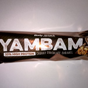 Body Attack YAMBAM Bar Chunky Chocolate Caramel