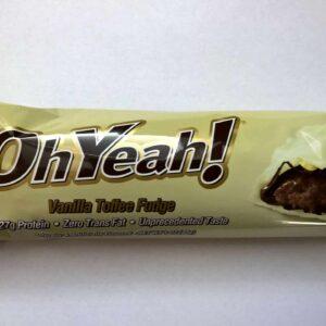 ISS Oh Yeah! Protein Riegel Vanilla Toffee Fudge