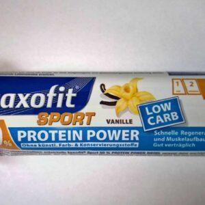 taxofit Sport 50% Protein Power Riegel Vanille