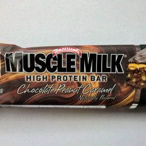 CytoSport Muscle Milk High Protein Bar Chocolate Peanut Caramel