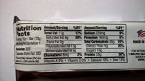 CytoSport Muscle Milk High Protein Bar Chocolate Peanut Caramel Nährwerte
