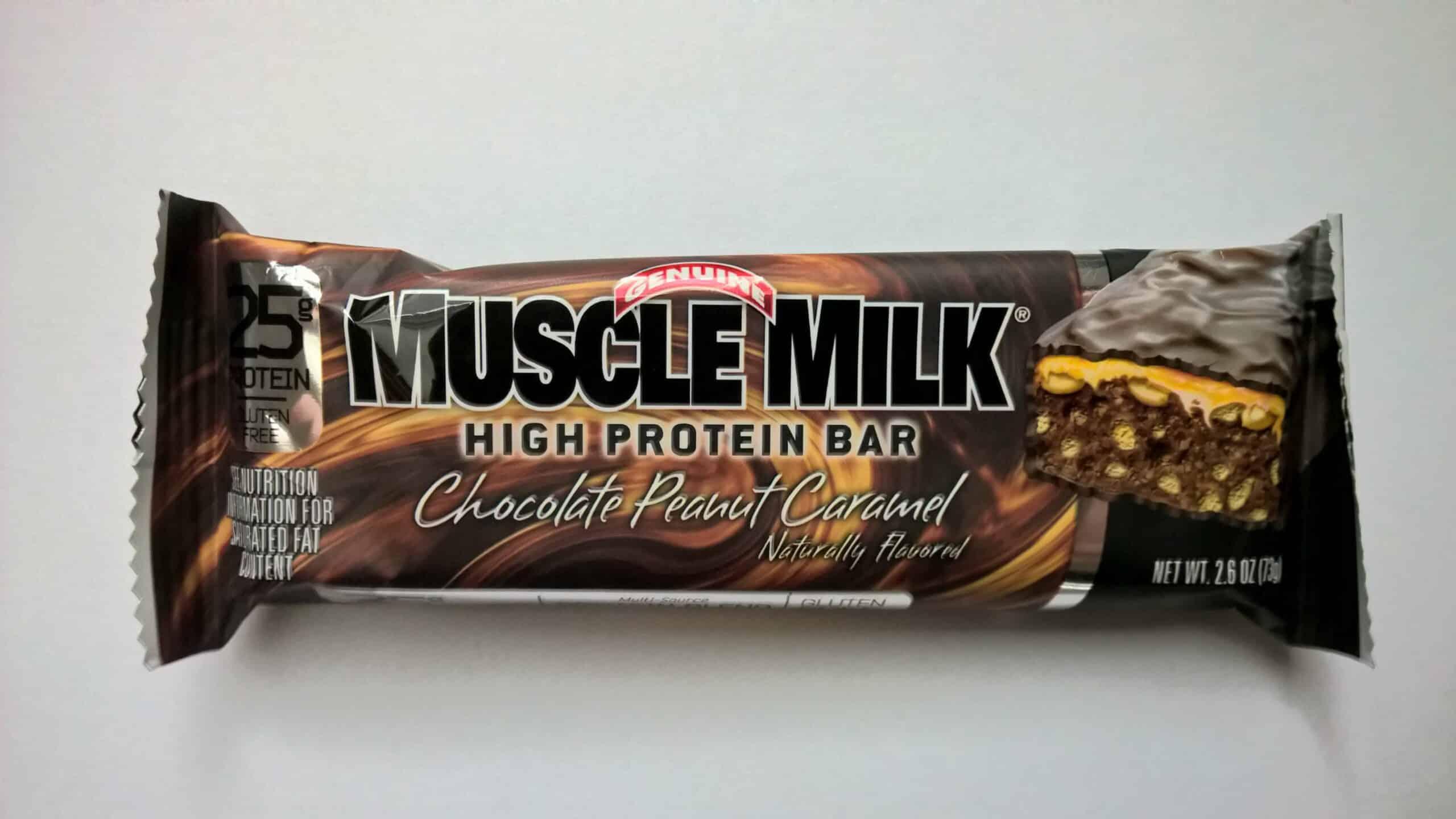 CytoSport Muscle Milk High Protein Bar Chocolate Peanut Caramel
