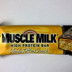 CytoSport Muscle Milk High Protein Bar Vanilla Toffee Crunch