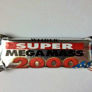 Weider Super Mega Mass 2000 Riegel Vanille