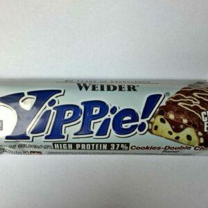 Weider YIPPIE! Protein Bar Cookies-Double Choc