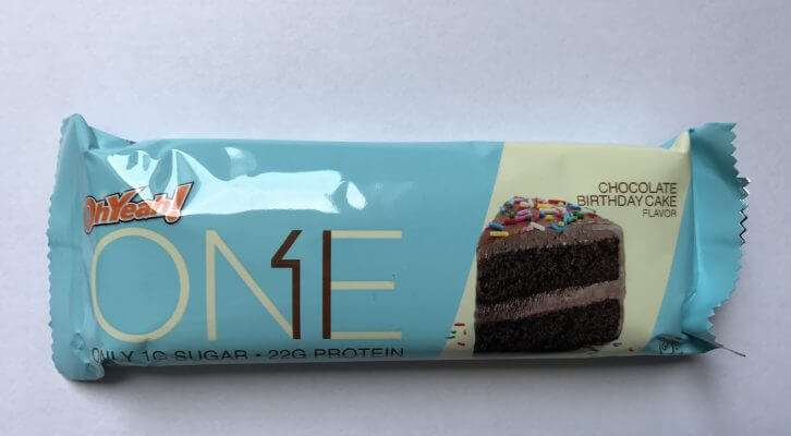 One Bar Protein Riegel Chocolate Birthday Cake 60g